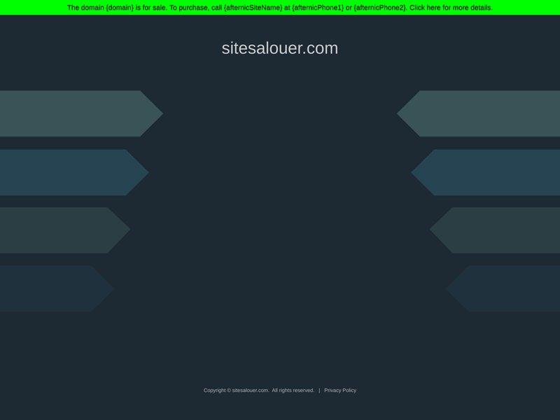 Sites à Louer , Location de site internet