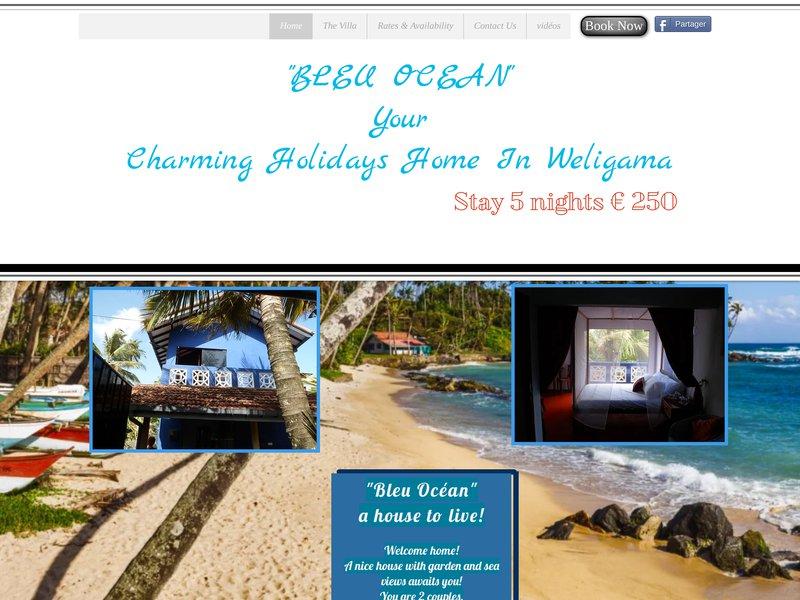 Bleu Ocean  Your charming holidays home