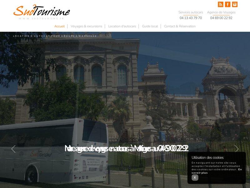 SUDTOURISME - Voyages Autocar Grand Tourisme - Tourisme France
