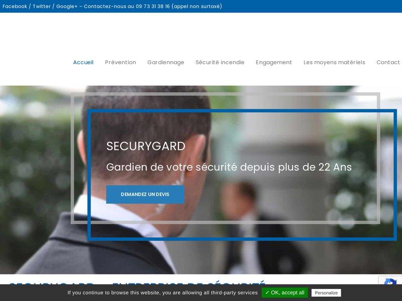 L'entreprise SECURYGARD certifiée Qualisécurité par l'AFNOR, Surveillance, gardiennage, ronde, sécurité, sûreté, sécurité incendie dans toutes la région Auvergne Rhône-Alpes.