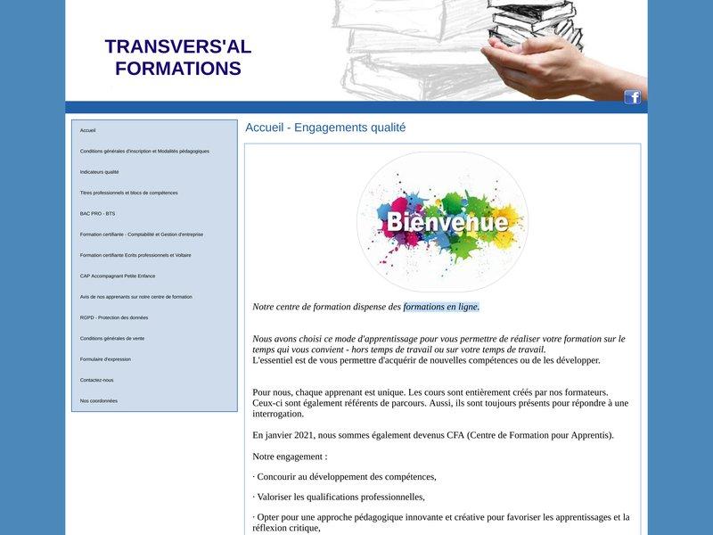 TRANSVERS'AL FORMATIONS