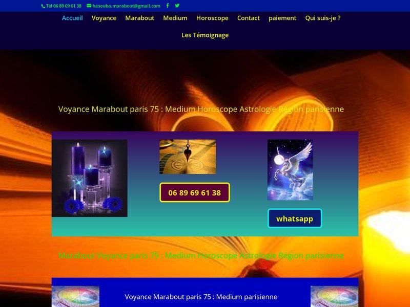 Voyant Medium Marabout Ile De France