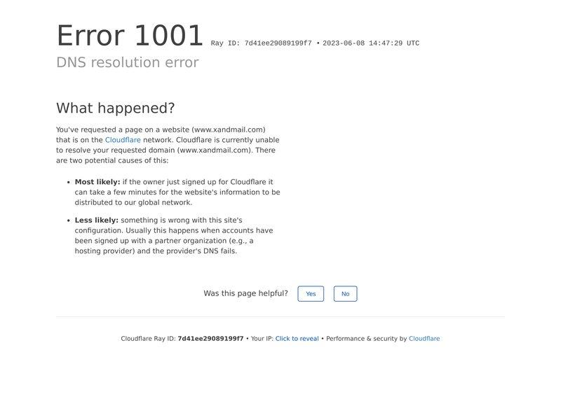 XandMail, Webmail software and Webmail applications