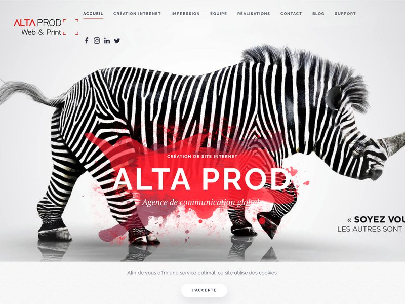 Agence de communication web dans le Cantal