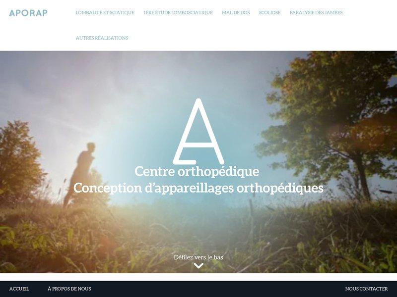 Appareillage orthopedie