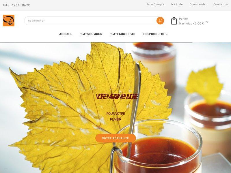 Une boutique en ligne d artisan traiteur charcutier meilleur ouvrier de France