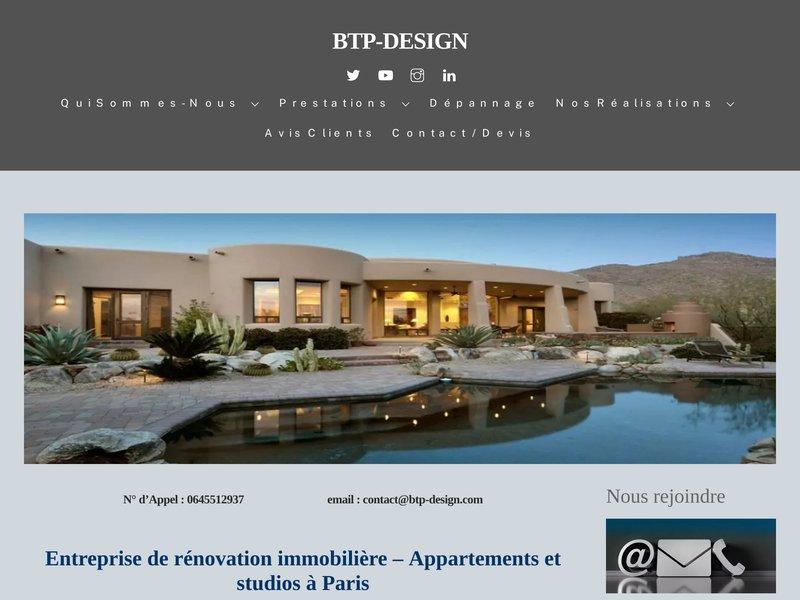 Société de rénovation appartement et studio a paris