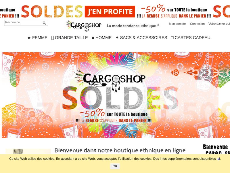CARGO SHOP ❙ Online Ethnical Clothing store