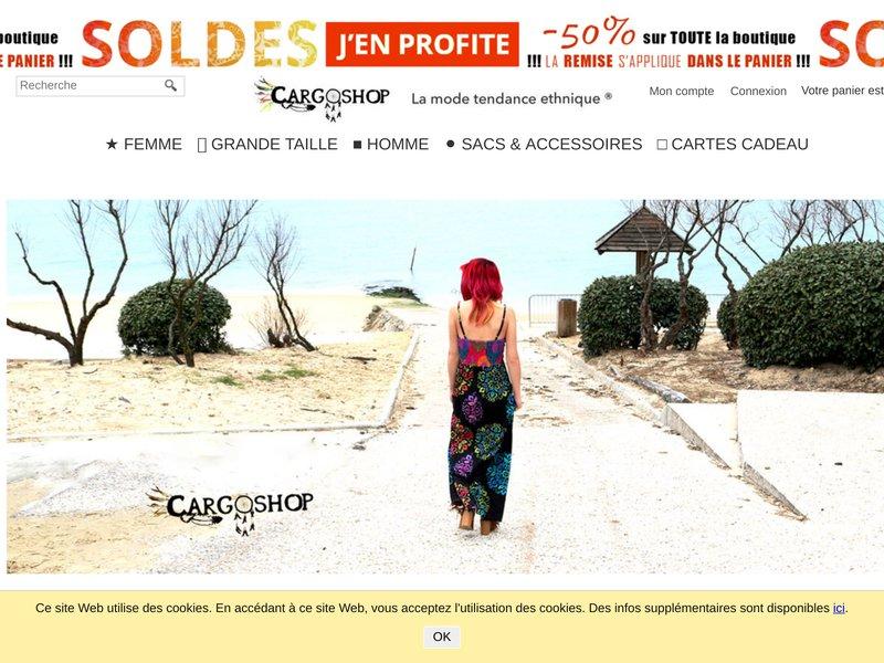CARGO SHOP Boutique Vêtement Ethnique - Femme Homme