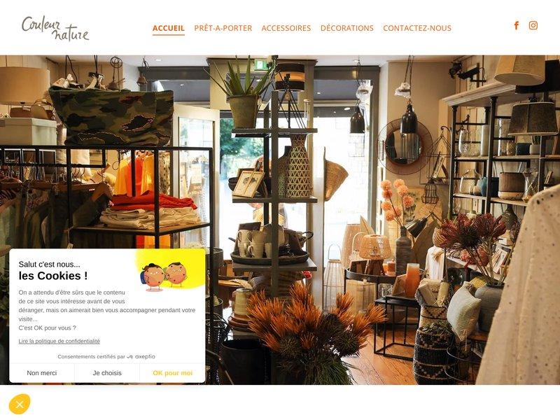 Couleur Nature Prêt à porter, Décoration - Nyons Drôme Provençale (26)