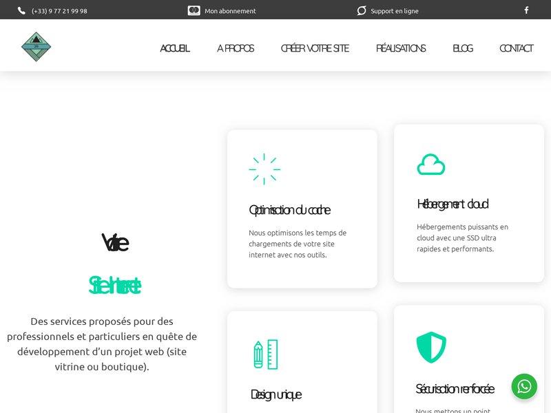 JR Informatique - Création de site internet à partir de 20,00 € / mois