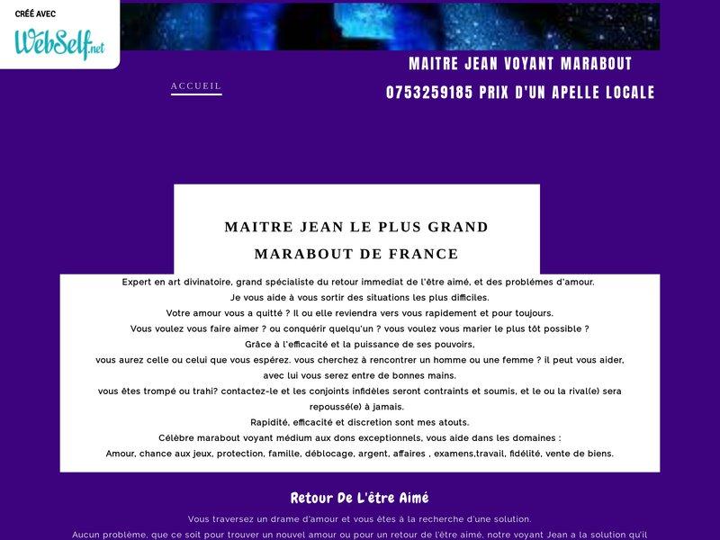 Marabout Africain Grenoble
