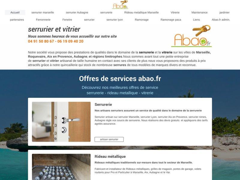 Serrurier et vitrier expérimenté sur Marseille