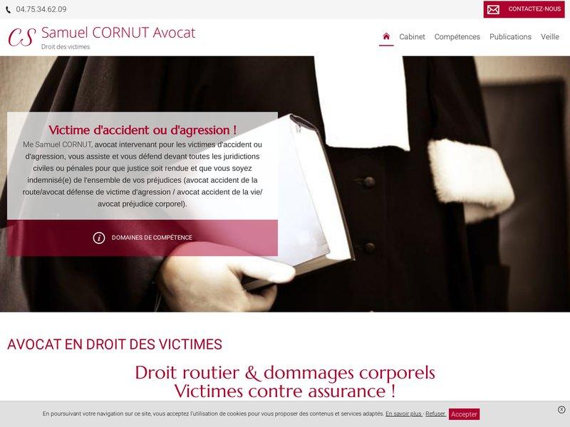 Avocat spécialisé en droit des victimes   ↵Droit routier & dommages corporels Victimes contre assurance !