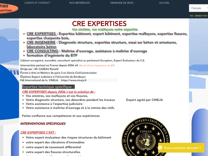 CABINET CAZEAU RONALD EXPERTISES
