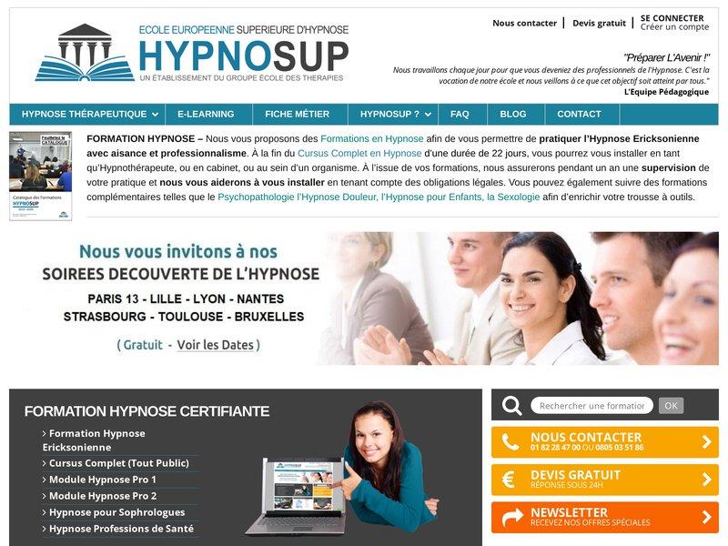 HYPNO SUP institut de formation hypnose