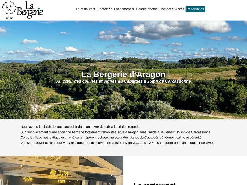 A quelques kilomètres de Carcassonne, Priscilla et Fabien GALIBERT vous ouvrent les portes de La Bergerie Hotel Restaurant nichée à ARAGON