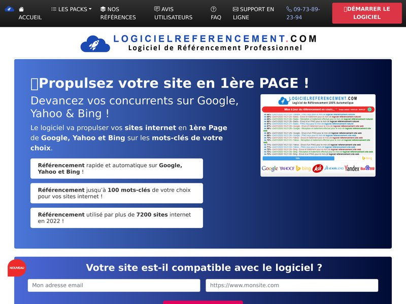 Propriétaire Site Internet