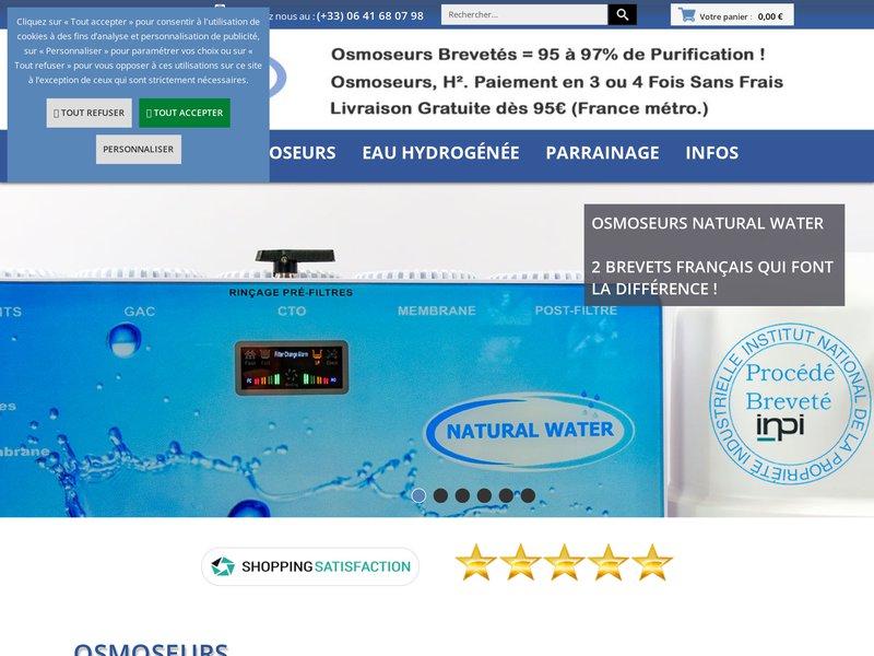 Osmoseurs Domestiques | Site N°1 de l'Osmose Inverse