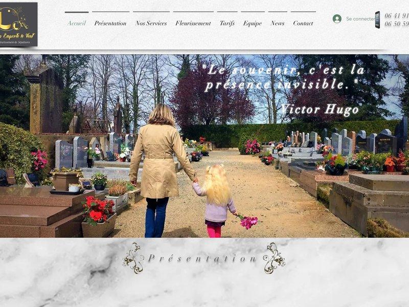 Nettoyage, fleurissement et entretien de sépultures dans l'Allier