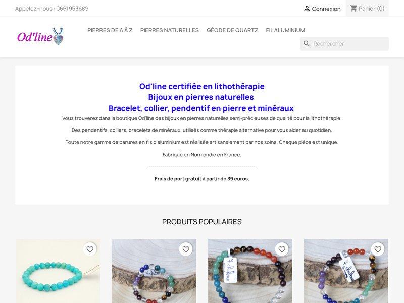 Bijoux en pierres naturelles semi-précieuses et autres fantaisies