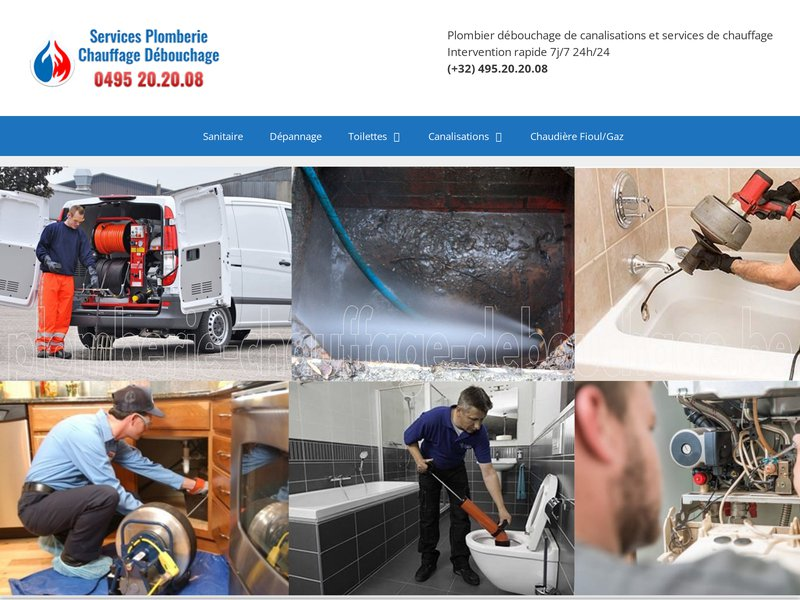 Plombier Chauffagiste Bruxelles, débouchage canalisation Bruxelles, dépannage plomberie pas cher
