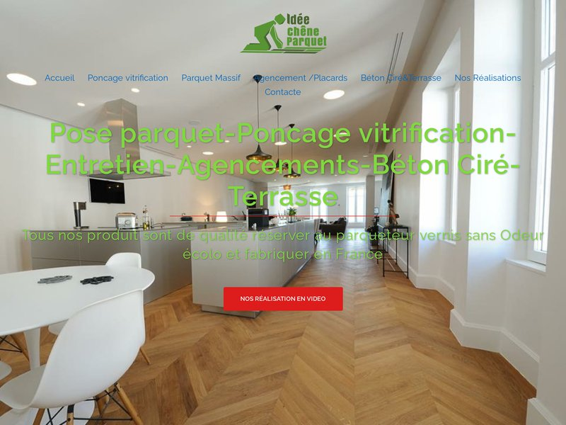 Pose ponçage parquet Grenoble ponçage vitrification agencement