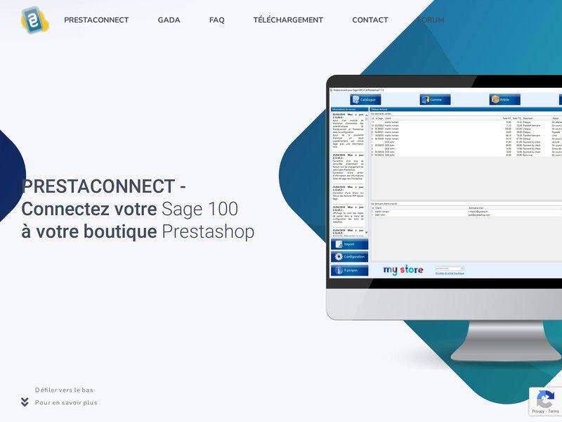 Connectez votre gestion commerciale  Sage 100 à votre boutique Prestashop