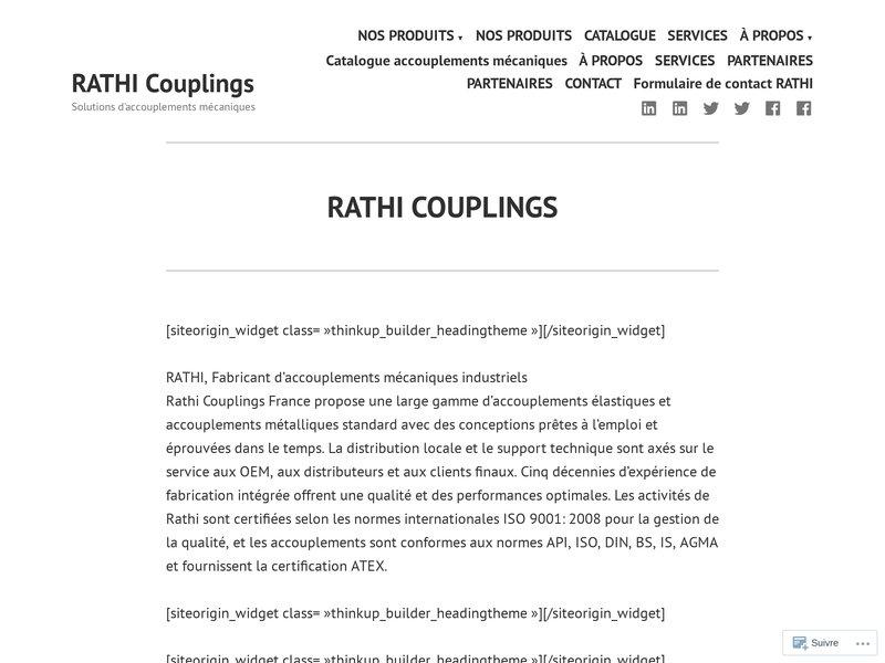 Accouplement mécanique élastique RATHI fabricant d'accouplement élastique mécanique,  accouplement flexible, accouplement mécanique rigide et accouplement hydraulique.