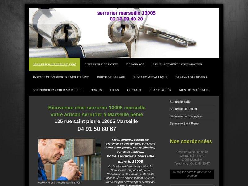 Serrurerie et serrurier a Marseille 13005