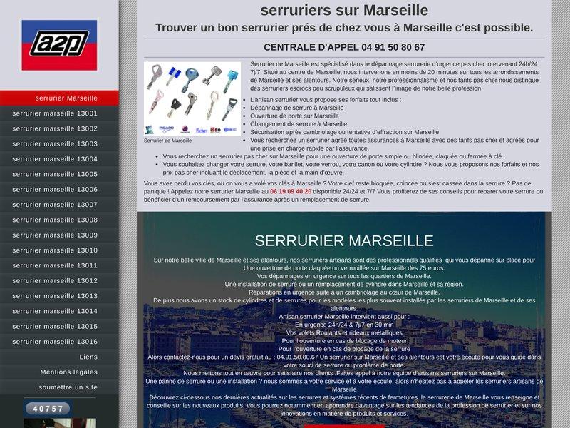 Serrurier prés de chez vous à Marseille