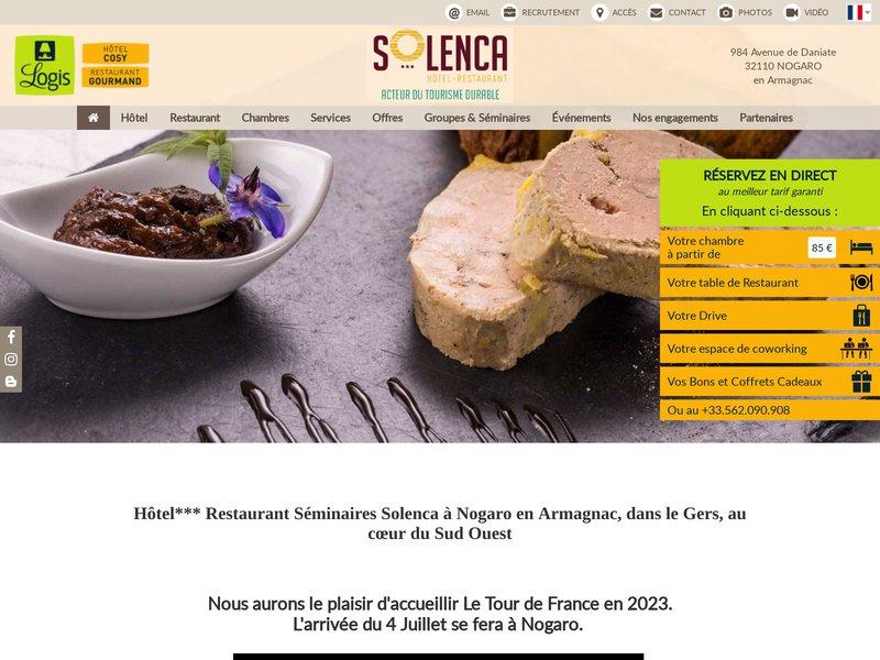 Hôtel Restaurant Séminaires Solenca Nogaro