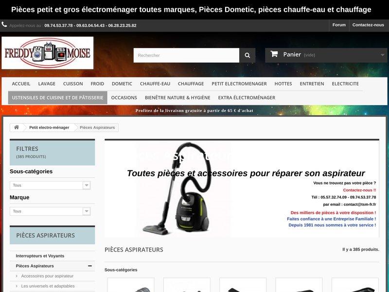 TSM Pièces détachées et accessoires petit et gros électroménager, pièces Dometic et Pièces chauffe-eau