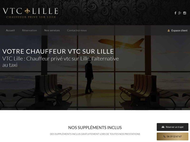 Réservez votre chauffeur privé VTC à Lille