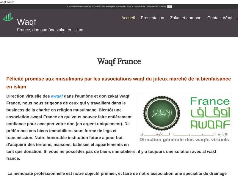 Waqf france